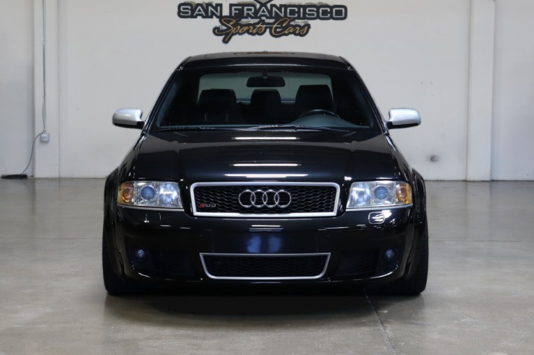 Used 2003 Audi RS 6 quattro for sale Sold at San Francisco Sports Cars in San Carlos CA 94070 2