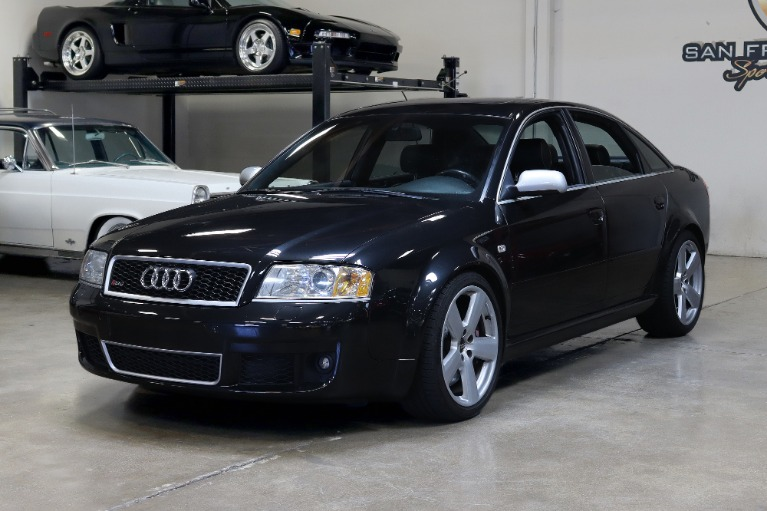 Used 2003 Audi RS 6 quattro for sale Sold at San Francisco Sports Cars in San Carlos CA 94070 3