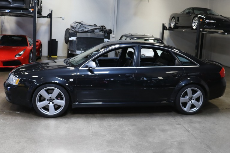 Used 2003 Audi RS 6 quattro for sale Sold at San Francisco Sports Cars in San Carlos CA 94070 4