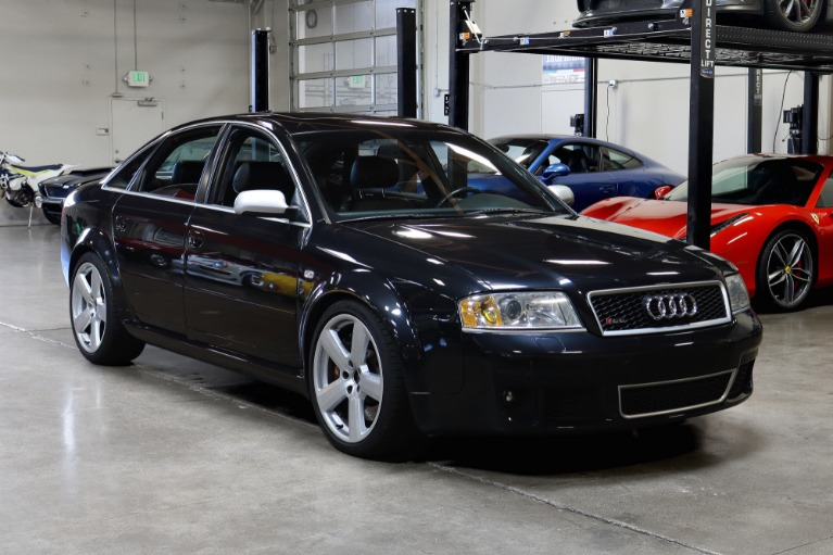 Used 2003 Audi RS 6 quattro for sale Sold at San Francisco Sports Cars in San Carlos CA 94070 1