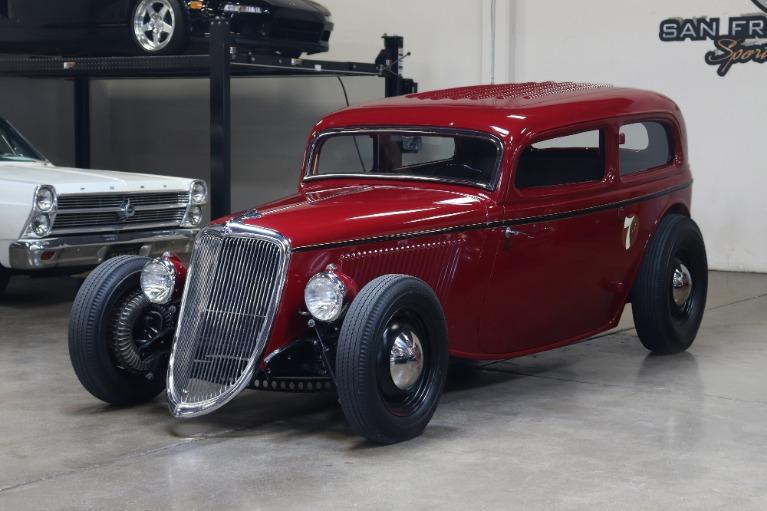 Used 1934 Ford Tudor Sedan for sale $84,995 at San Francisco Sports Cars in San Carlos CA 94070 3