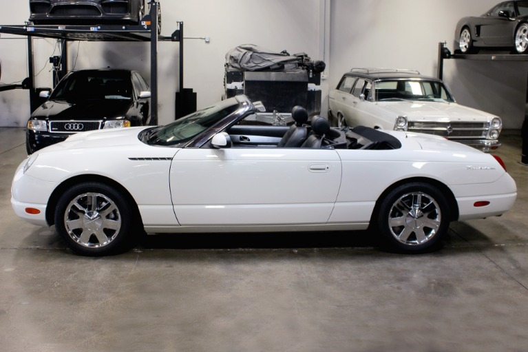 Used 2002 Ford Thunderbird Deluxe for sale $13,995 at San Francisco Sports Cars in San Carlos CA 94070 4