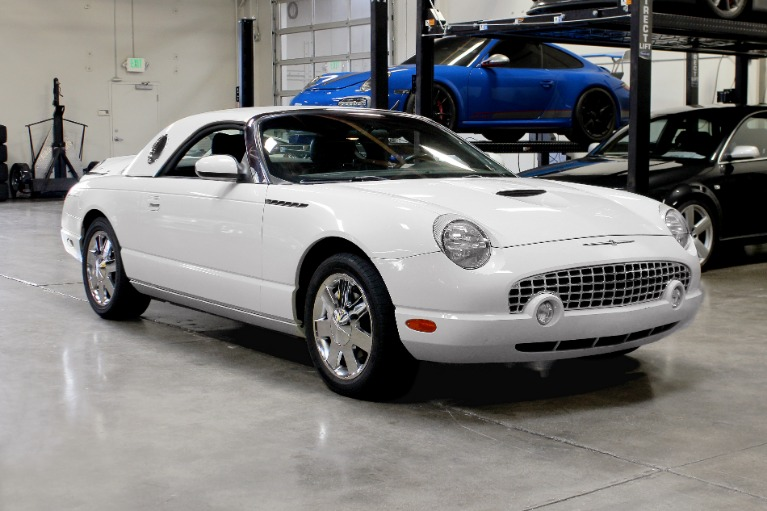 Used 2002 Ford Thunderbird Deluxe for sale $13,995 at San Francisco Sports Cars in San Carlos CA