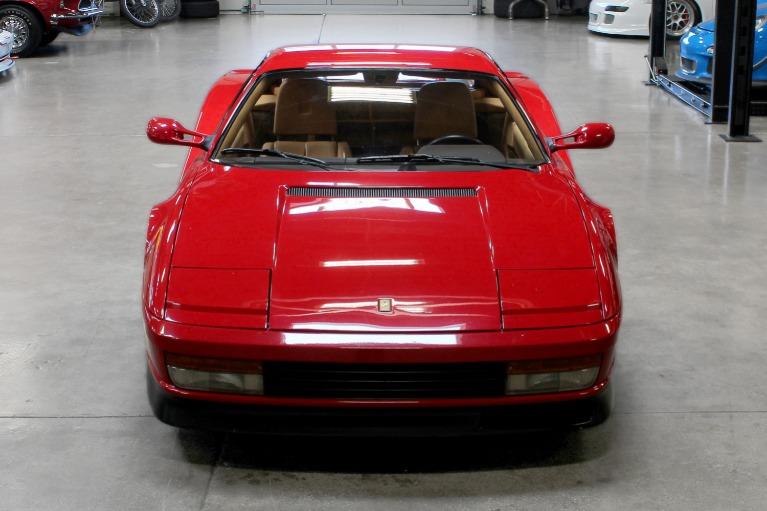 Used 1987 Ferrari Testarossa for sale Sold at San Francisco Sports Cars in San Carlos CA 94070 2