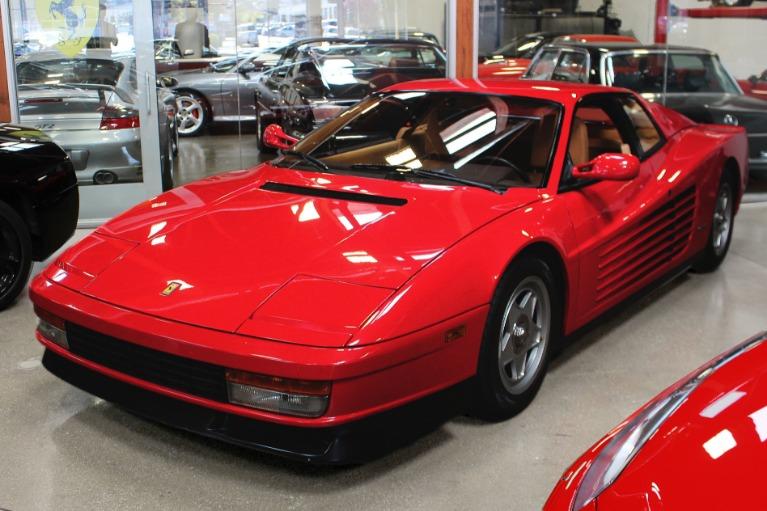 Used 1987 Ferrari Testarossa for sale Sold at San Francisco Sports Cars in San Carlos CA 94070 3