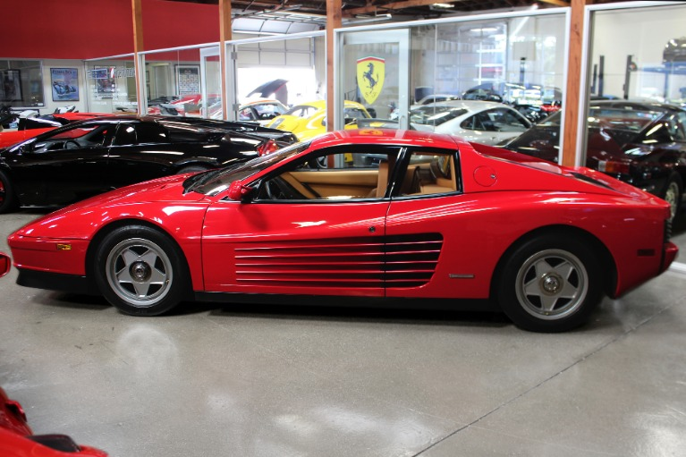 Used 1987 Ferrari Testarossa for sale Sold at San Francisco Sports Cars in San Carlos CA 94070 4
