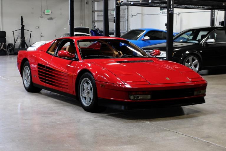 Used 1987 Ferrari Testarossa for sale Sold at San Francisco Sports Cars in San Carlos CA 94070 1