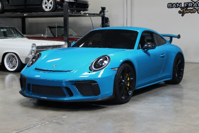 Used 2018 Porsche 911 GT3 for sale $199,995 at San Francisco Sports Cars in San Carlos CA 94070 3