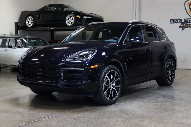 Used 2019 Porsche Cayenne Turbo for sale $127,995 at San Francisco Sports Cars in San Carlos CA 94070 3