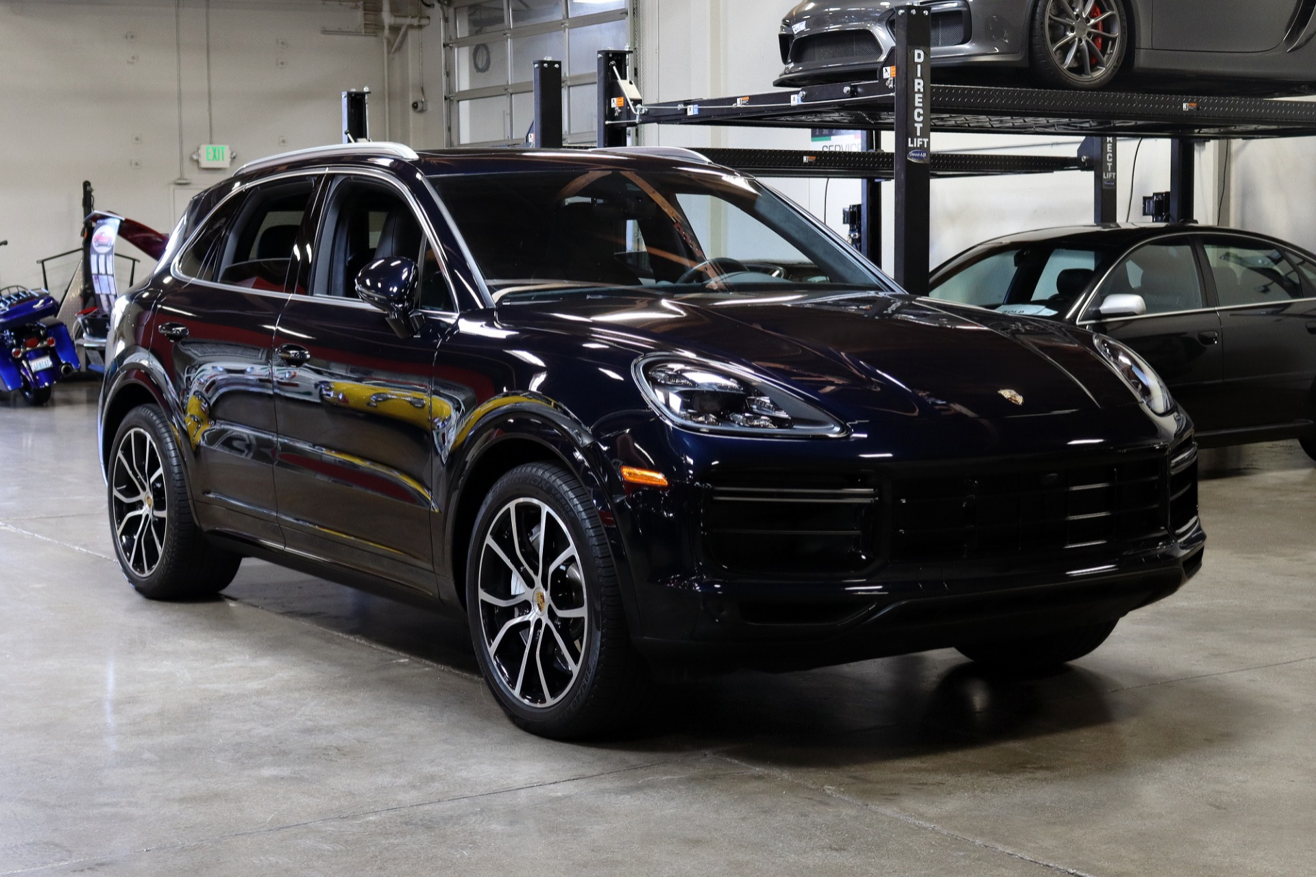 Used 2019 Porsche Cayenne Turbo for sale $127,995 at San Francisco Sports Cars in San Carlos CA 94070 1