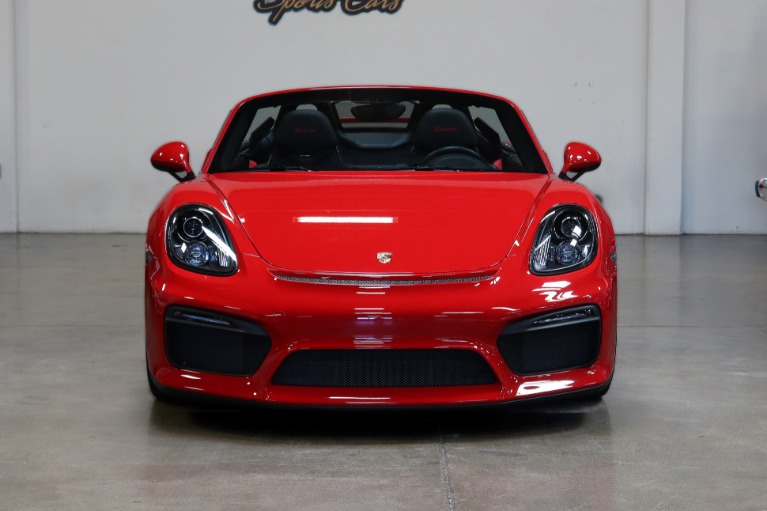 Used 2016 Porsche Boxster Spyder for sale $119,995 at San Francisco Sports Cars in San Carlos CA 94070 2