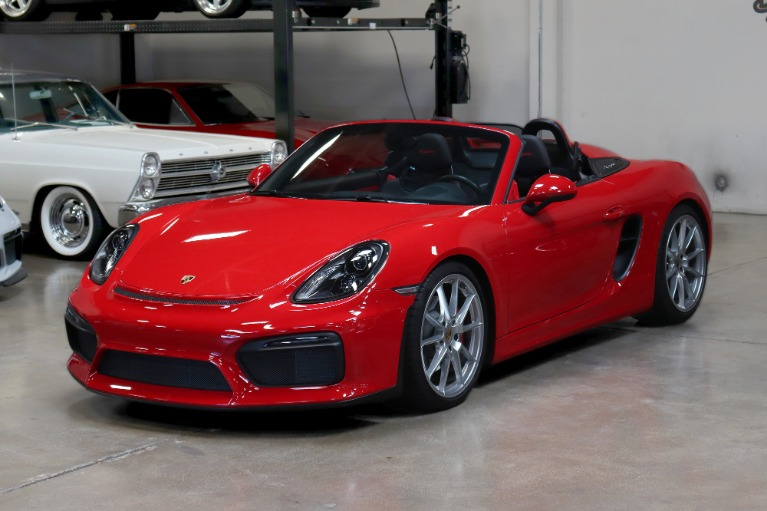 Used 2016 Porsche Boxster Spyder for sale $119,995 at San Francisco Sports Cars in San Carlos CA 94070 3