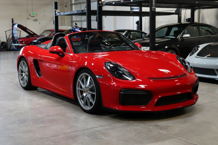 Used 2016 Porsche Boxster Spyder for sale $119,995 at San Francisco Sports Cars in San Carlos CA 94070 1