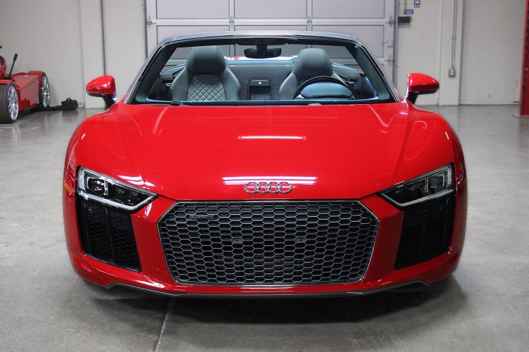 Used 2017 Audi R8 Spyder for sale Sold at San Francisco Sports Cars in San Carlos CA 94070 2