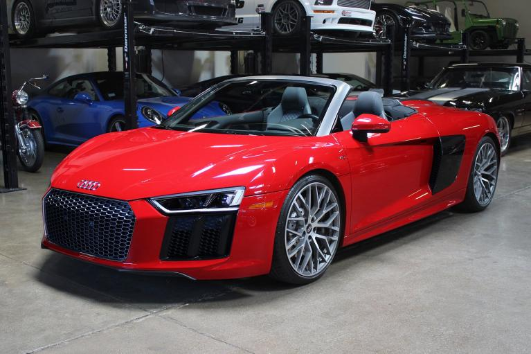 Used 2017 Audi R8 Spyder for sale Sold at San Francisco Sports Cars in San Carlos CA 94070 3
