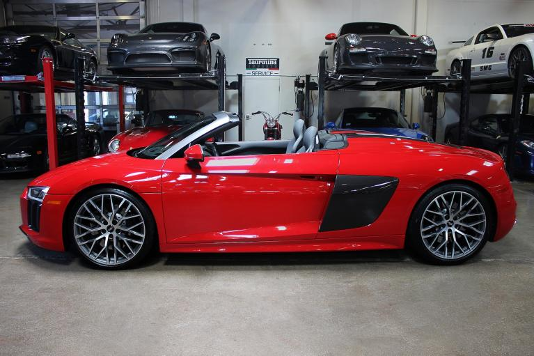 Used 2017 Audi R8 Spyder for sale Sold at San Francisco Sports Cars in San Carlos CA 94070 4
