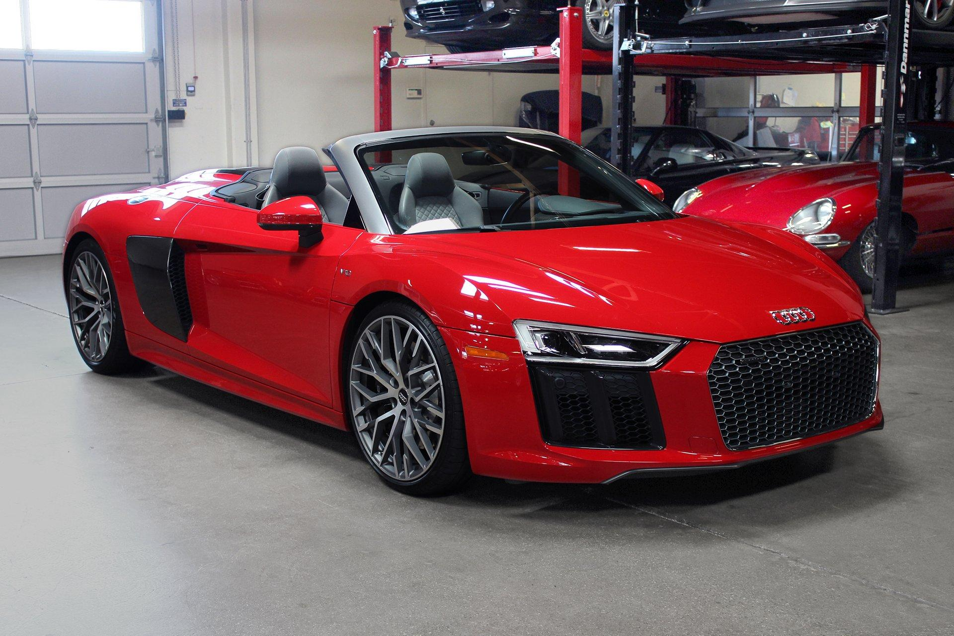 Used 2017 Audi R8 Spyder for sale Sold at San Francisco Sports Cars in San Carlos CA 94070 1