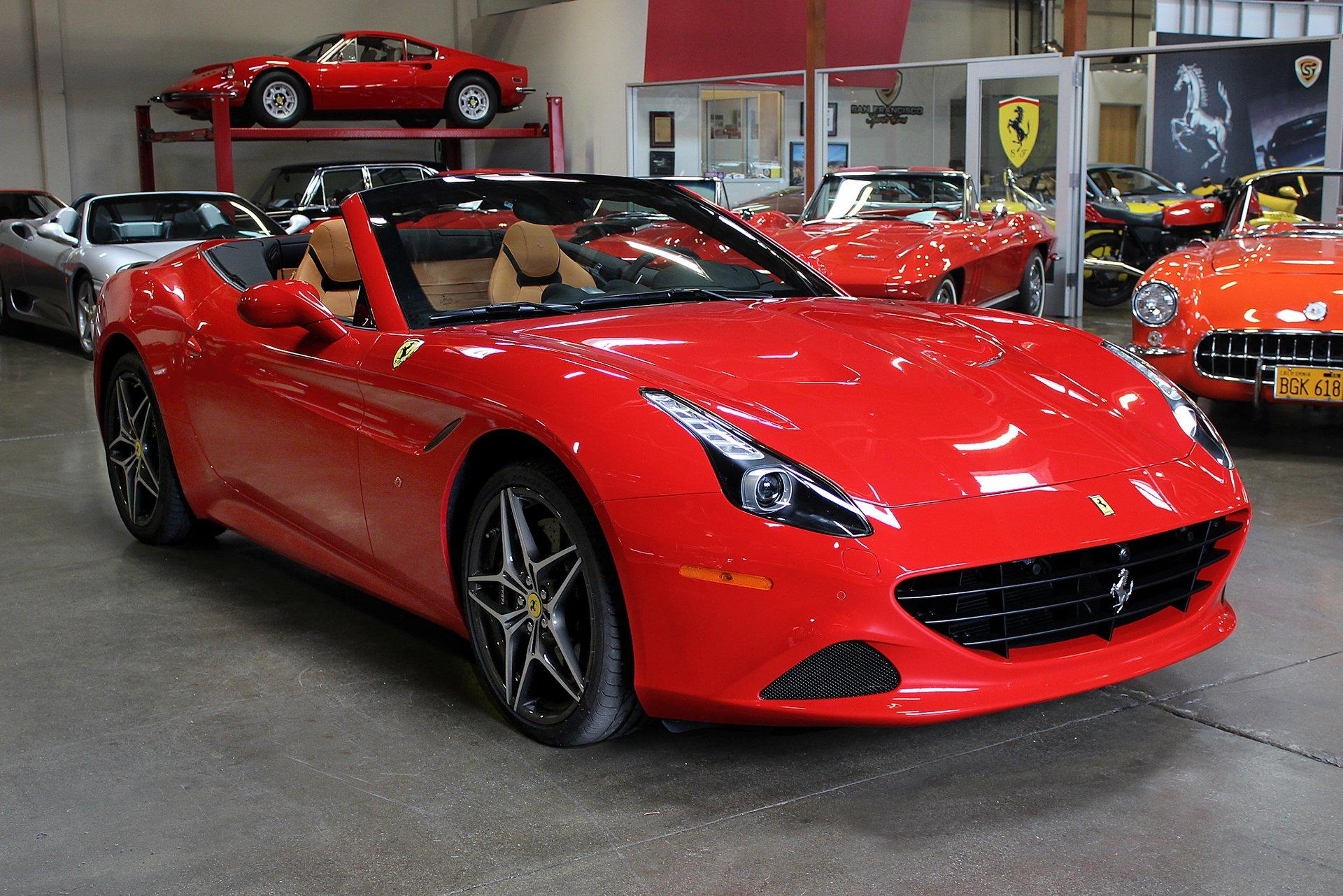 Used 2016 Ferrari California T for sale Sold at San Francisco Sports Cars in San Carlos CA 94070 1