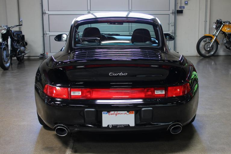 Used 1996 Porsche 911 Turbo for sale Sold at San Francisco Sports Cars in San Carlos CA 94070 4