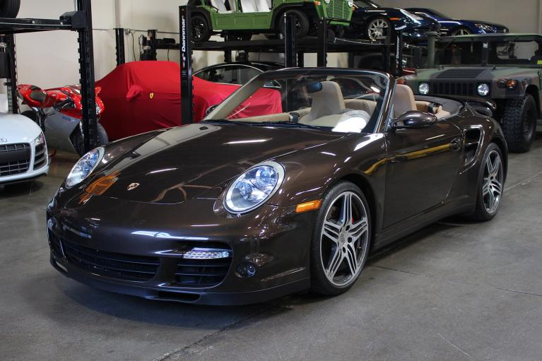 Used 2008 Porsche 911 Turbo Cabriolet for sale Sold at San Francisco Sports Cars in San Carlos CA 94070 2