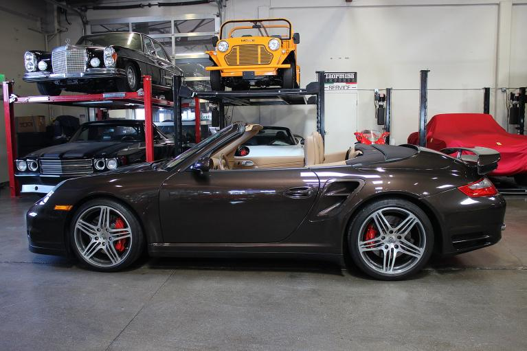 Used 2008 Porsche 911 Turbo Cabriolet for sale Sold at San Francisco Sports Cars in San Carlos CA 94070 3