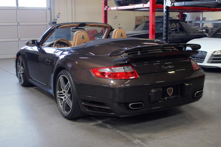Used 2008 Porsche 911 Turbo Cabriolet for sale Sold at San Francisco Sports Cars in San Carlos CA 94070 4