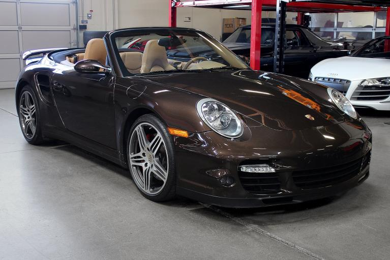 Used 2008 Porsche 911 Turbo Cabriolet for sale Sold at San Francisco Sports Cars in San Carlos CA 94070 1