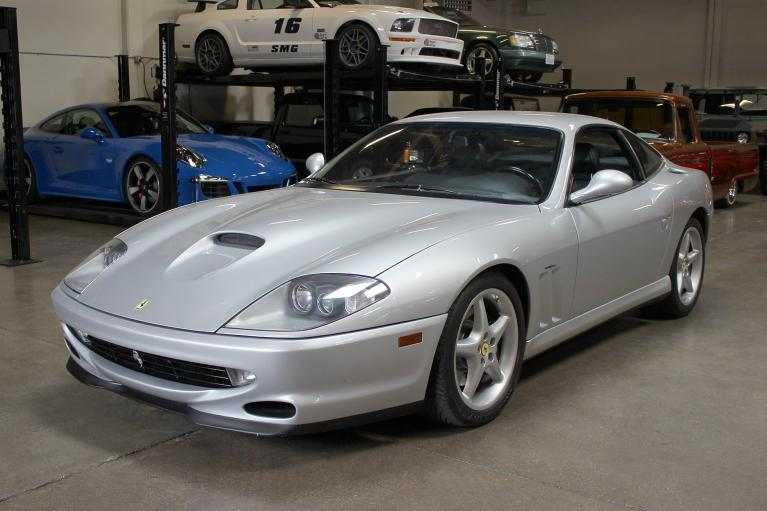 Used 1997 Ferrari 550 Maranello for sale Sold at San Francisco Sports Cars in San Carlos CA 94070 3