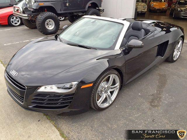 Used 2011 Audi R8 Spyder for sale Sold at San Francisco Sports Cars in San Carlos CA 94070 2