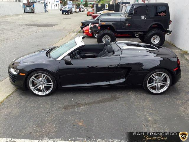 Used 2011 Audi R8 Spyder for sale Sold at San Francisco Sports Cars in San Carlos CA 94070 3