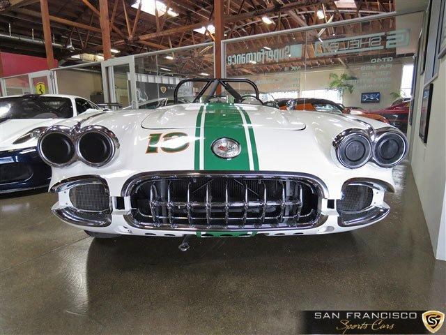 Used 1958 Chevy Corvette Race Car for sale Sold at San Francisco Sports Cars in San Carlos CA 94070 1