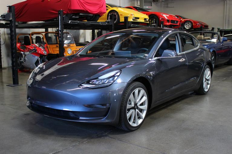 Used 2018 Tesla Model 3 for sale Sold at San Francisco Sports Cars in San Carlos CA 94070 3