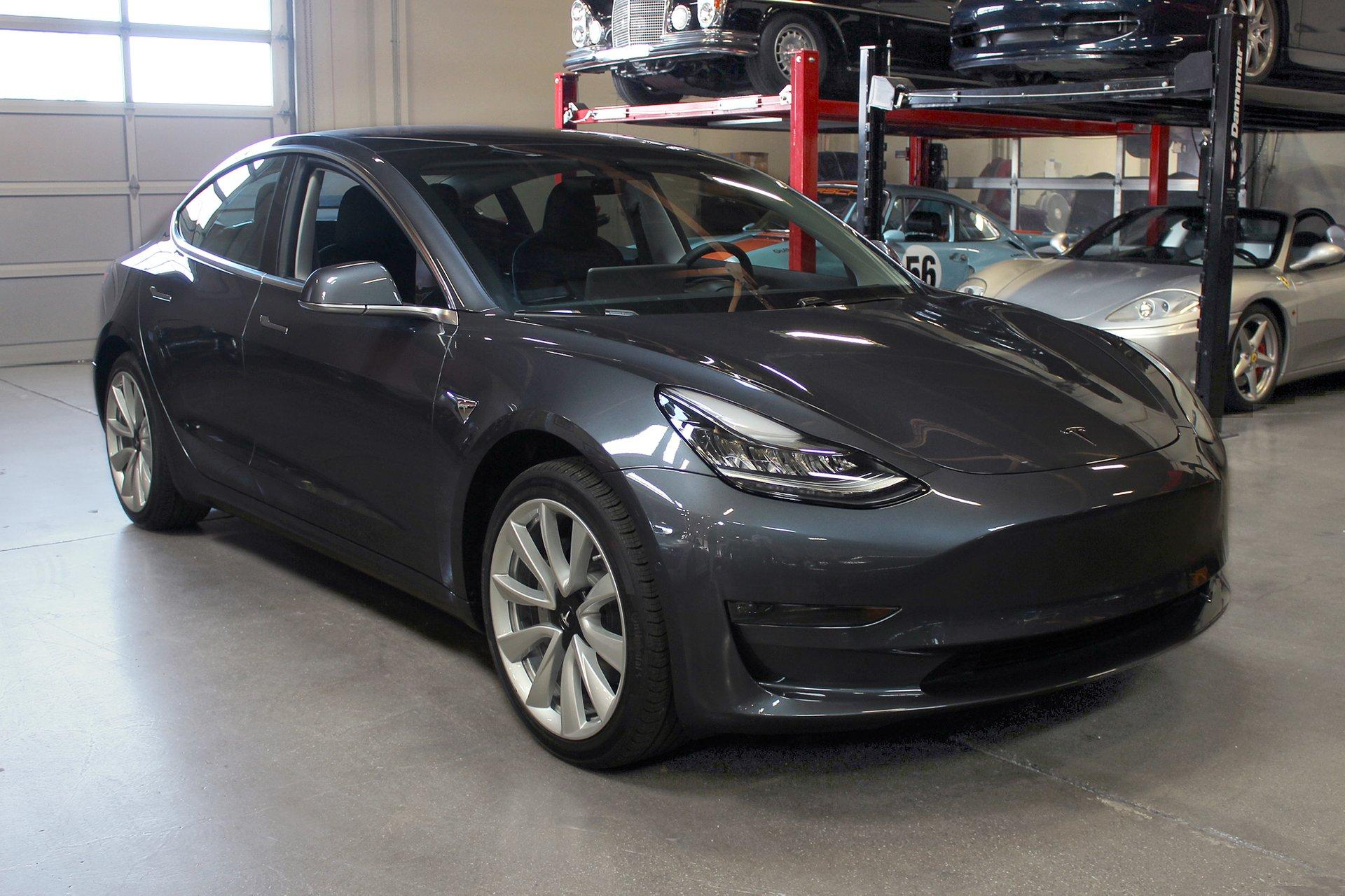 Used 2018 Tesla Model 3 for sale Sold at San Francisco Sports Cars in San Carlos CA 94070 1