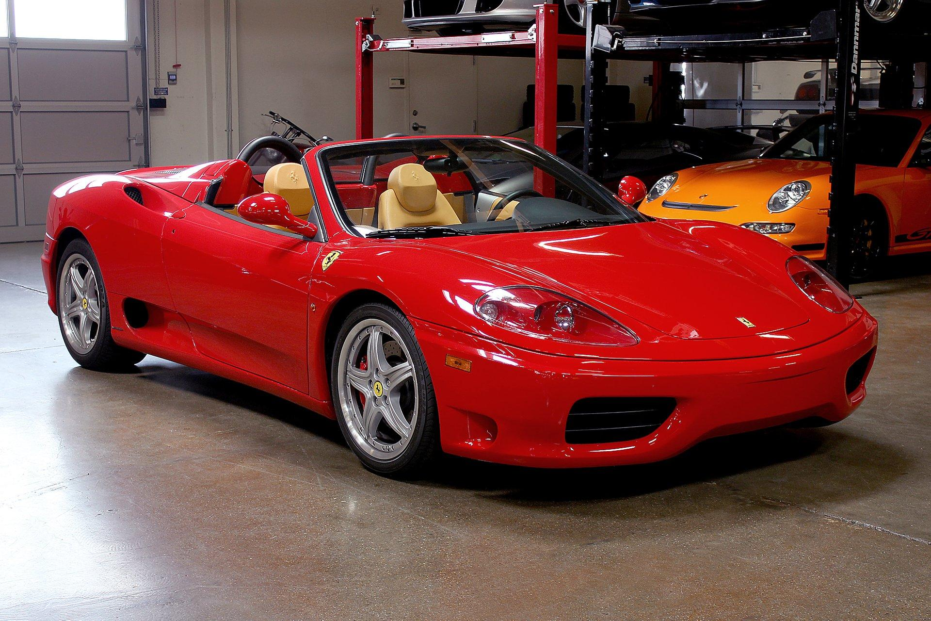 Used 2004 Ferrari 360 Spider For Sale Special Pricing San Francisco Sports Cars Stock C17046