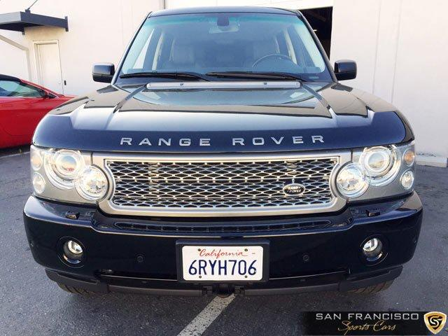 Used 2008 Range Rover Supercharged for sale Sold at San Francisco Sports Cars in San Carlos CA 94070 1