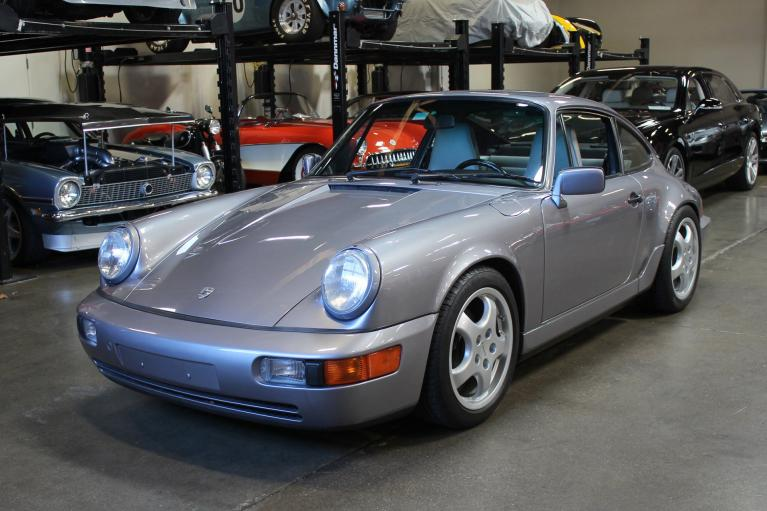 Used 1990 Porsche 911 Carrera 4 for sale Sold at San Francisco Sports Cars in San Carlos CA 94070 3