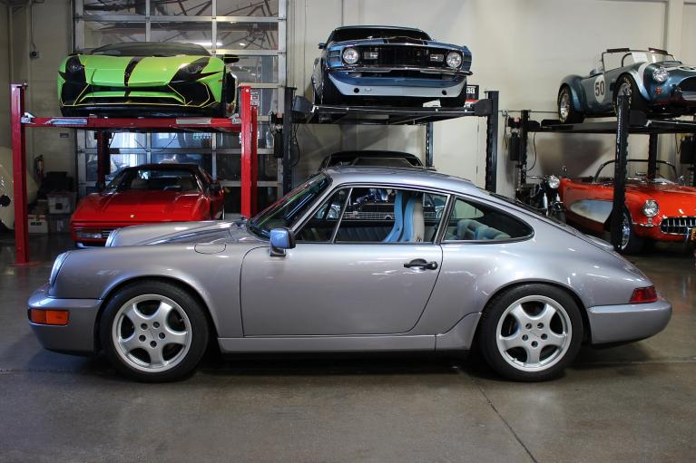Used 1990 Porsche 911 Carrera 4 for sale Sold at San Francisco Sports Cars in San Carlos CA 94070 4