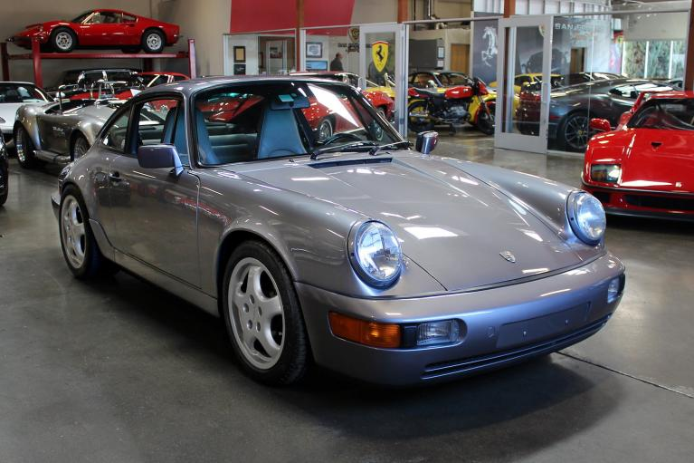 Used 1990 Porsche 911 Carrera 4 for sale Sold at San Francisco Sports Cars in San Carlos CA 94070 1
