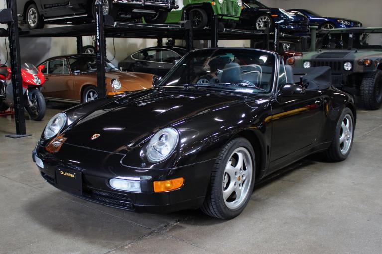 Used 1997 Porsche 911 Carrera 4 Cabriolet for sale Sold at San Francisco Sports Cars in San Carlos CA 94070 3