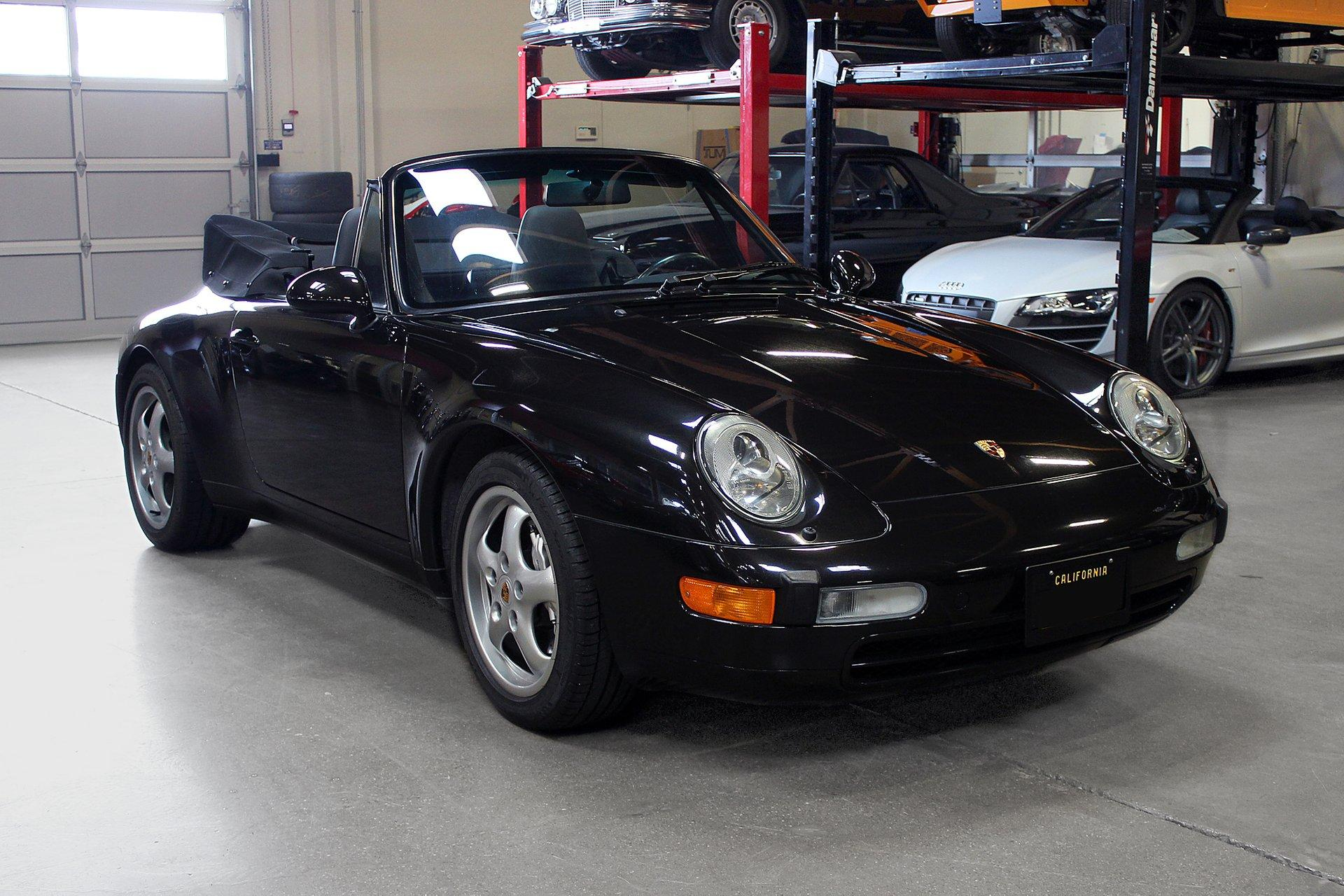 Used 1997 Porsche 911 Carrera 4 Cabriolet for sale Sold at San Francisco Sports Cars in San Carlos CA 94070 1
