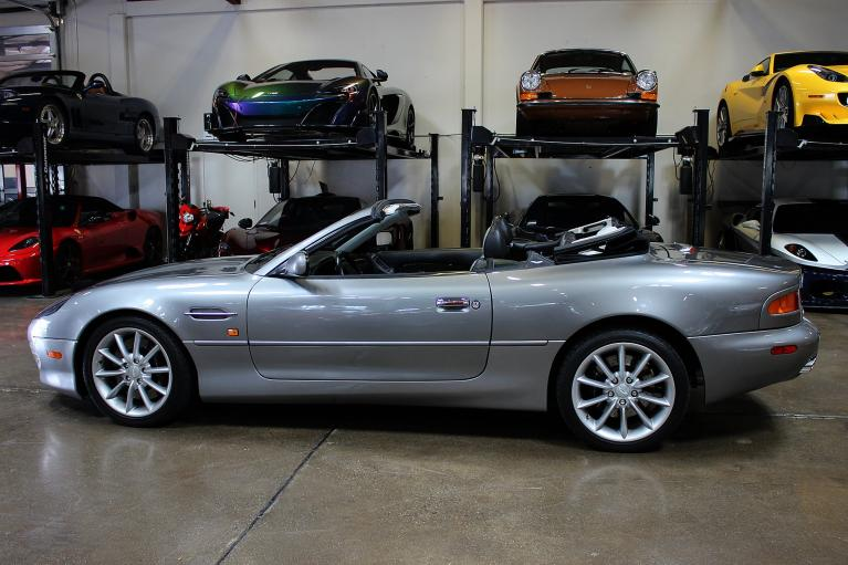 Used 2002 Aston Martin DB7 for sale Sold at San Francisco Sports Cars in San Carlos CA 94070 4