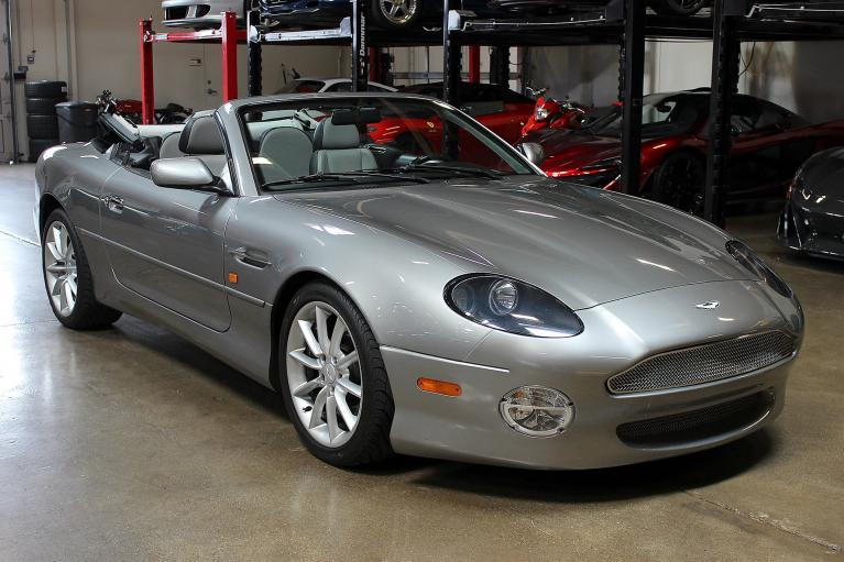 Used 2002 Aston Martin DB7 for sale Sold at San Francisco Sports Cars in San Carlos CA 94070 1