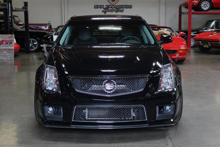 Used 2012 Cadillac CTS-V for sale Sold at San Francisco Sports Cars in San Carlos CA 94070 2
