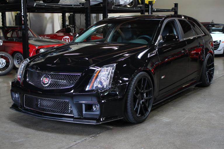 Used 2012 Cadillac CTS-V for sale Sold at San Francisco Sports Cars in San Carlos CA 94070 3