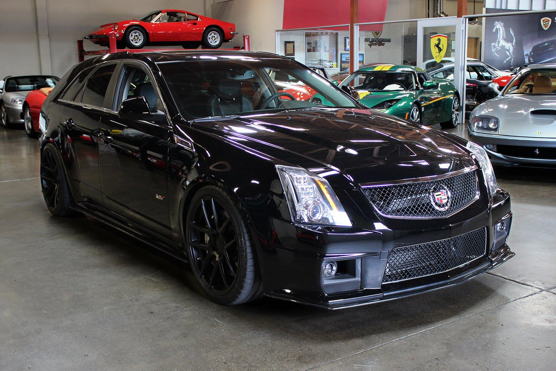 Used 2012 Cadillac CTS-V for sale Sold at San Francisco Sports Cars in San Carlos CA 94070 1