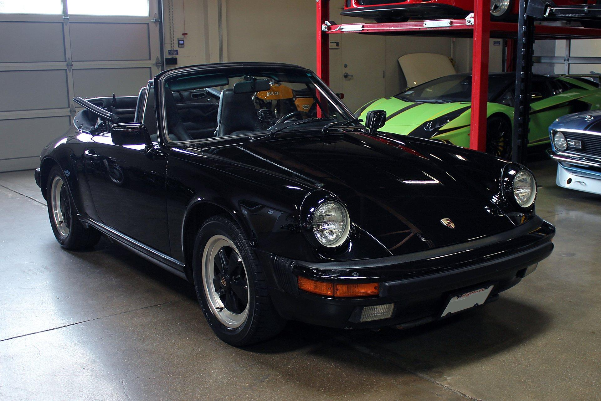 Used 1986 Porsche 911 Carrera for sale Sold at San Francisco Sports Cars in San Carlos CA 94070 1