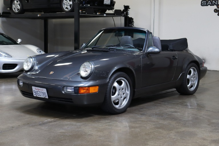 Used 1994 Porsche 911 Carrera 2 Cabriolet for sale Sold at San Francisco Sports Cars in San Carlos CA 94070 3