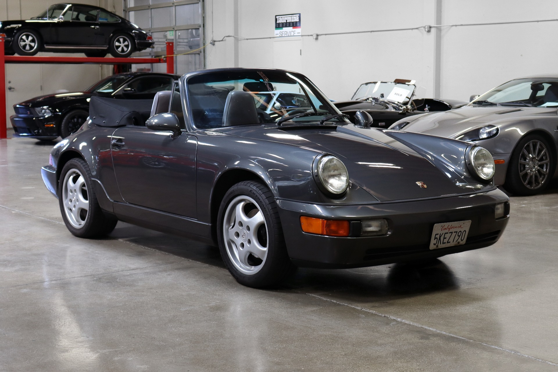 Used 1994 Porsche 911 Carrera 2 Cabriolet for sale Sold at San Francisco Sports Cars in San Carlos CA 94070 1