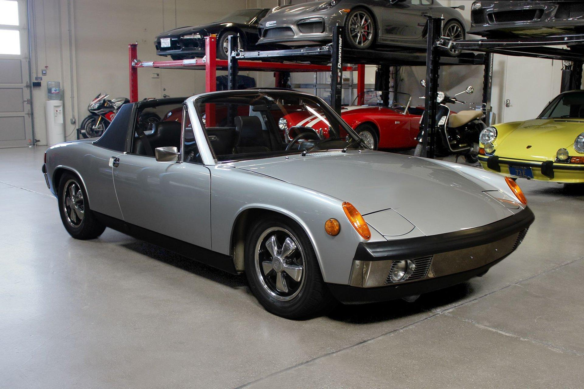 Used 1970 Porsche 914-6 for sale $99,995 at San Francisco Sports Cars in San Carlos CA 94070 1