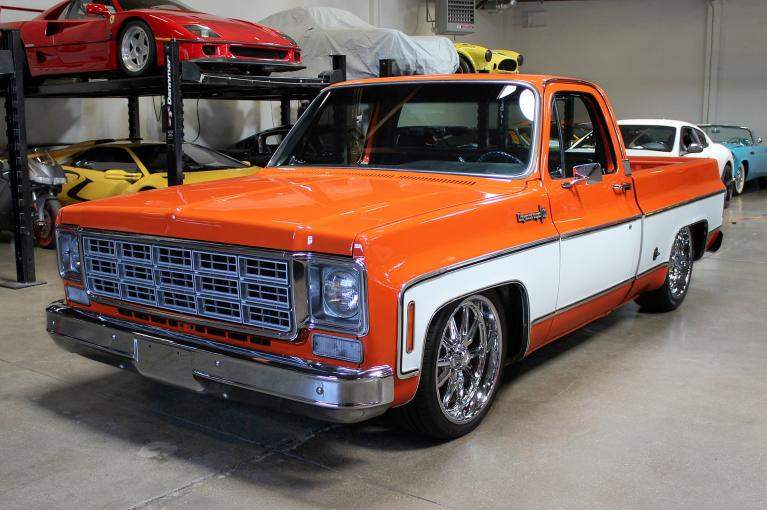 Used 1973 Chevrolet C10 Pickup for sale Sold at San Francisco Sports Cars in San Carlos CA 94070 3